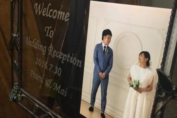 2016年7月30日結婚式二次会レポート