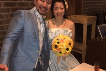 2016年10月15日結婚式二次会レポート